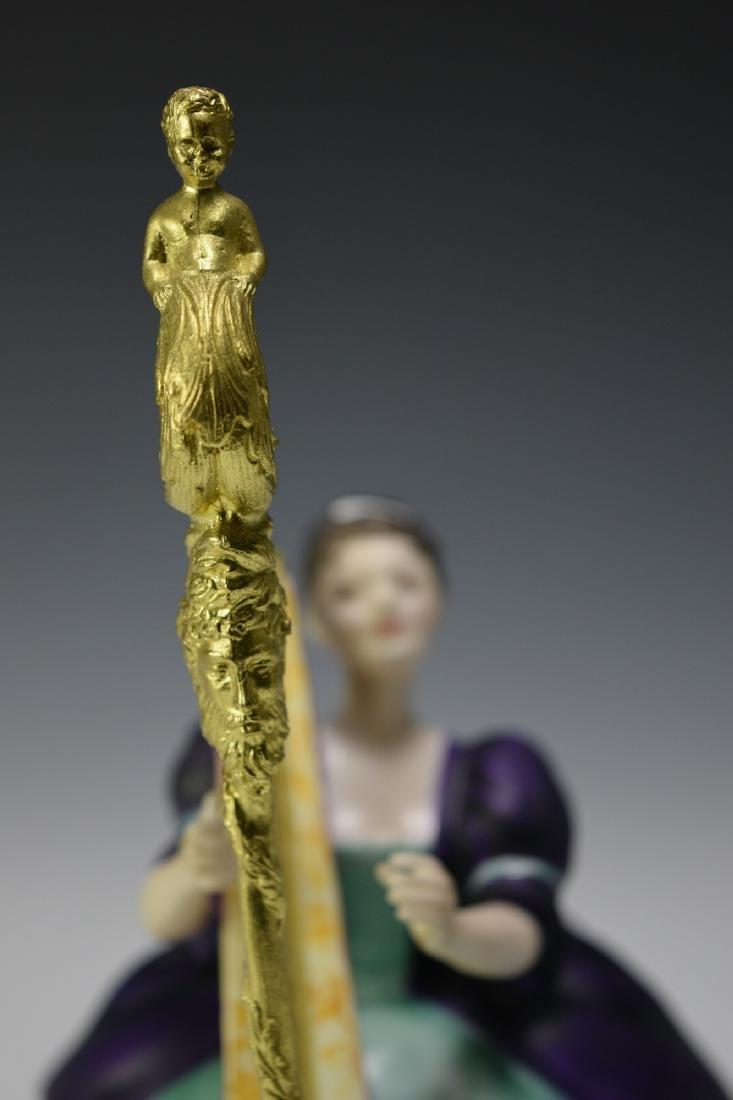 "Royal Doulton ""Harp"" Figure - 6"