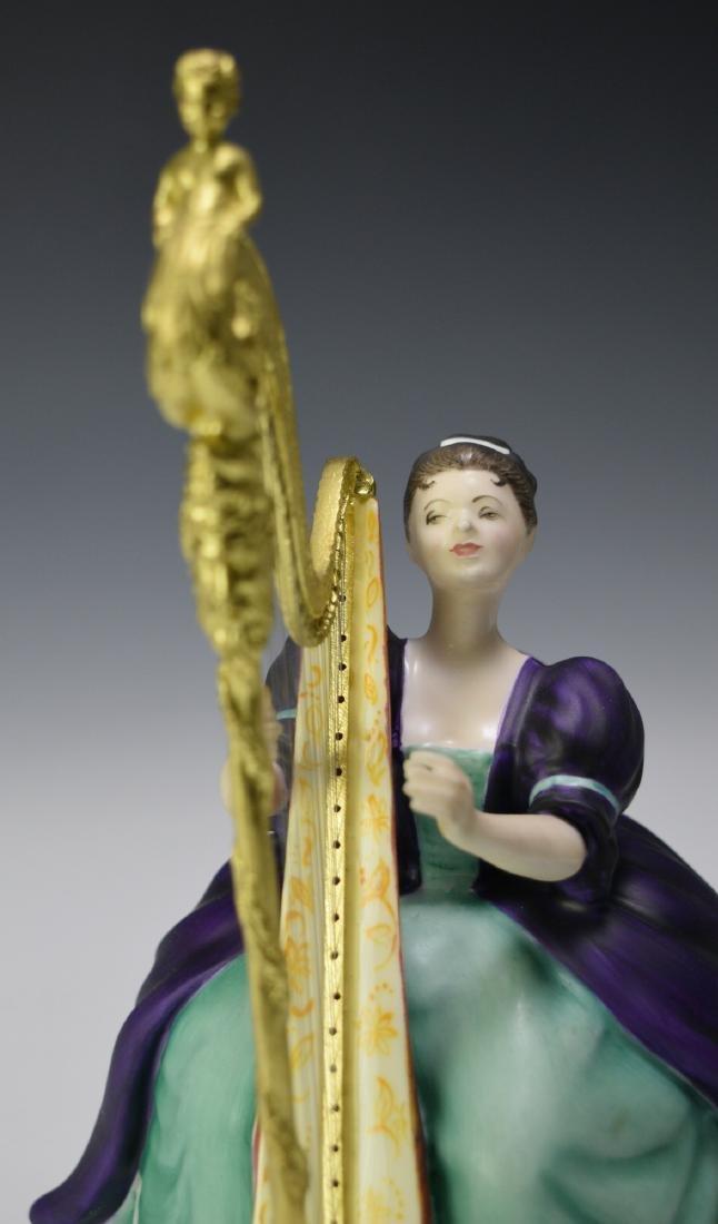 "Royal Doulton ""Harp"" Figure - 7"
