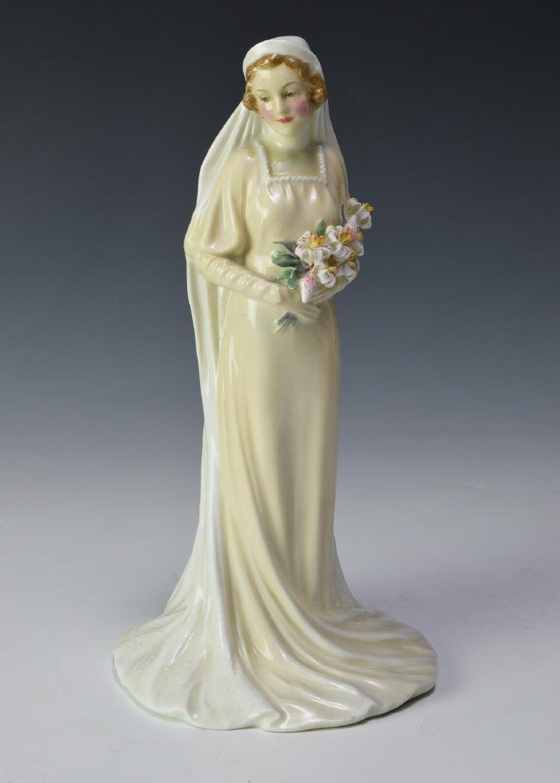 "Royal Doulton ""The Bride"" Figure"
