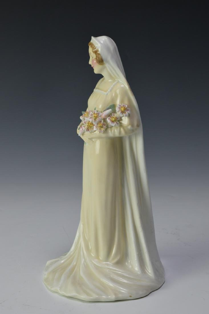 "Royal Doulton ""The Bride"" Figure - 3"