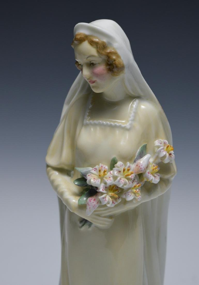 "Royal Doulton ""The Bride"" Figure - 4"