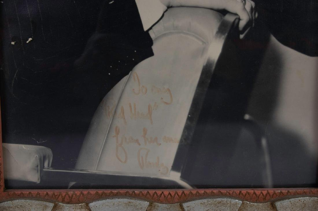 Autographed Photo of Rudy Vallee to Eleanor Vallee - 2