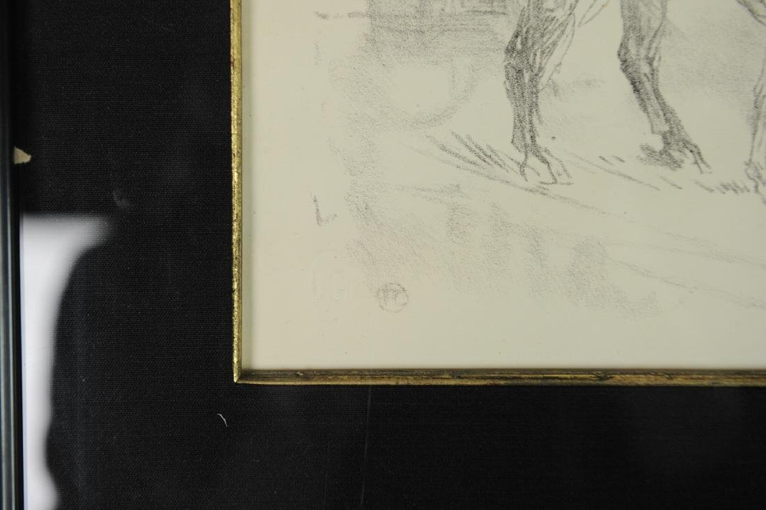 Lithograph of Woman on Horseback by Toulouse-Lautrec - 3