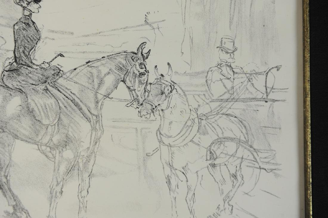 Lithograph of Woman on Horseback by Toulouse-Lautrec - 5