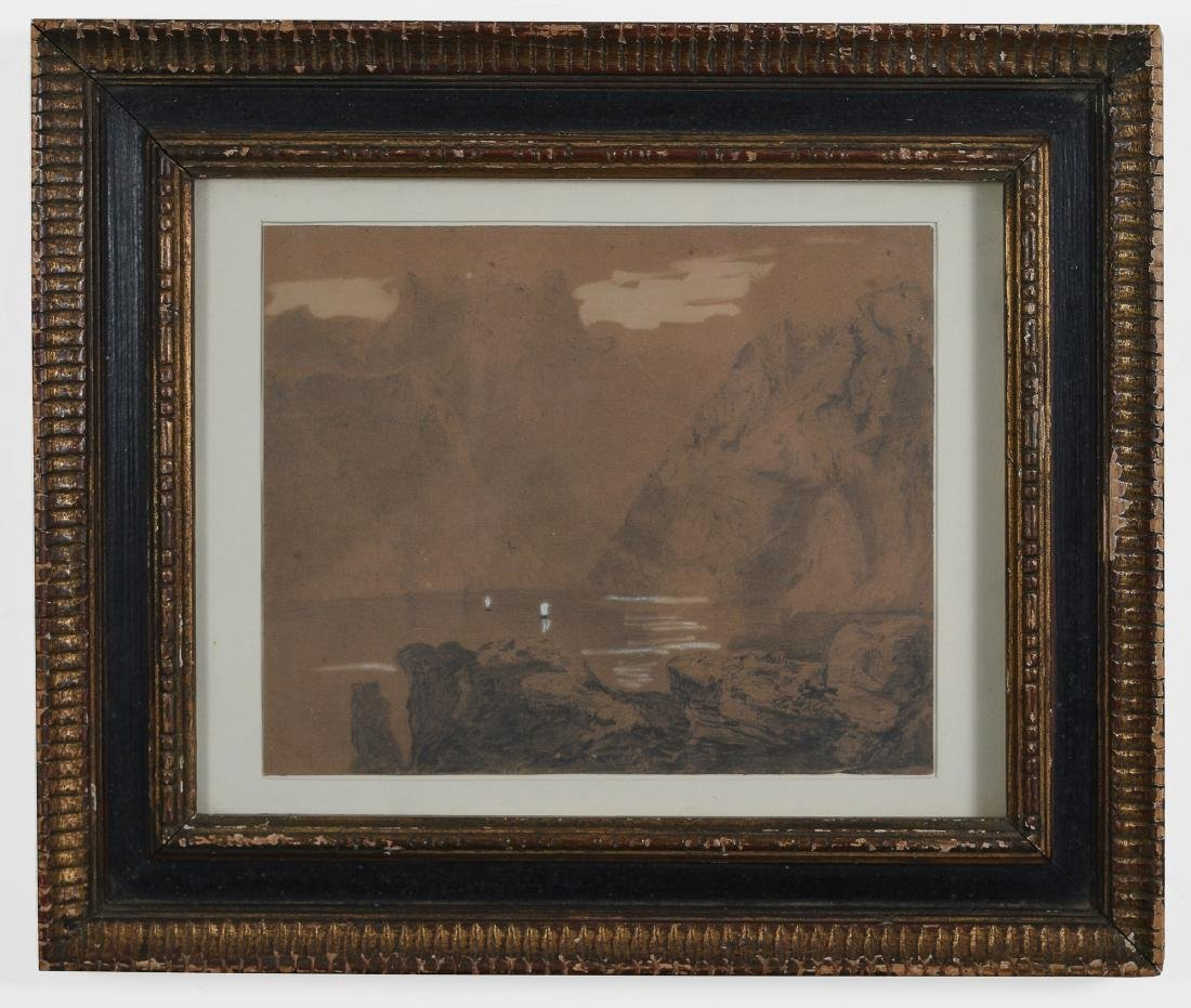 J.M.W. Turner Watercolor with     Provenance