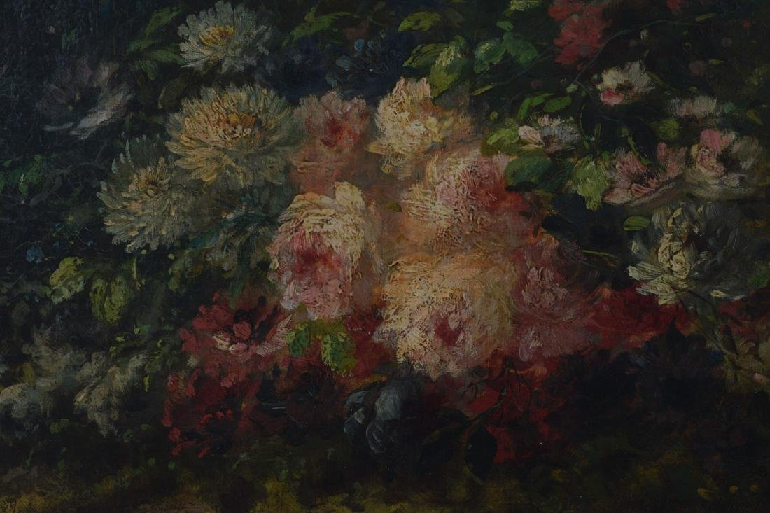 Oil on Canvas Still Life by M. Vincles - 3