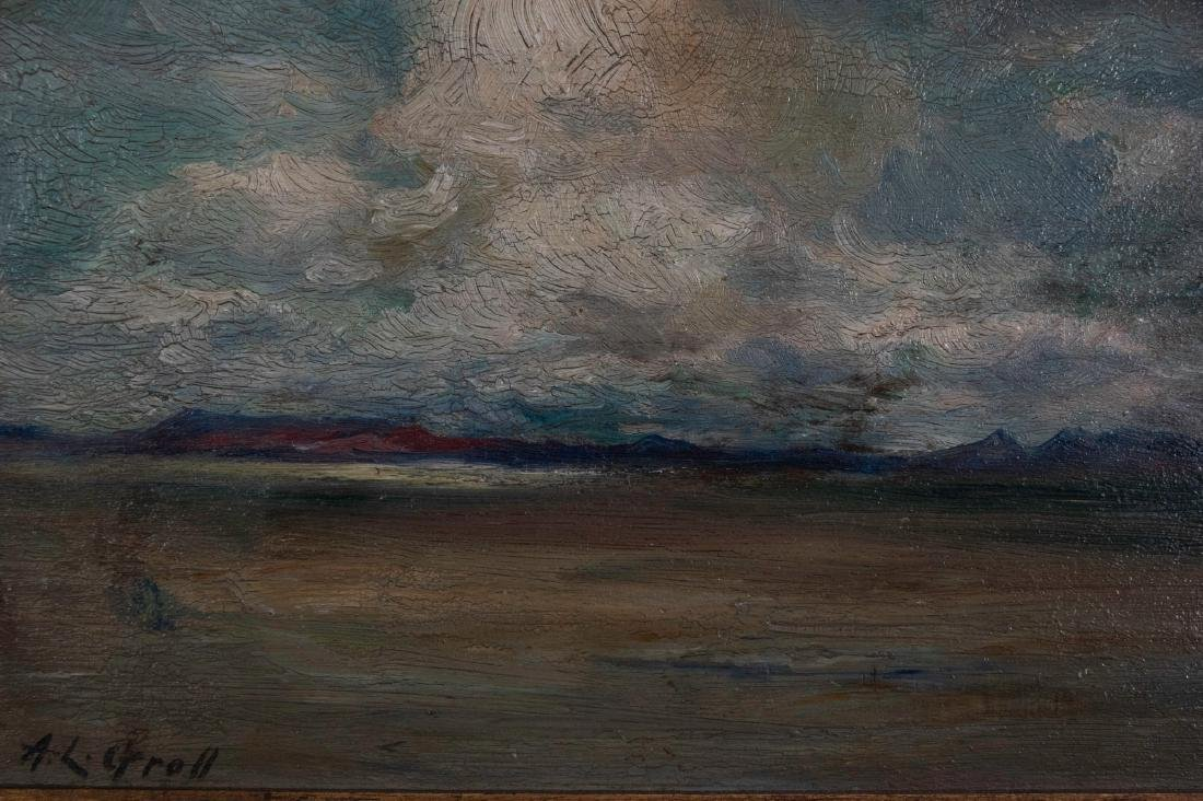 "Oil on Board ""Arizona"" by Albert Lorey Groll - 3"