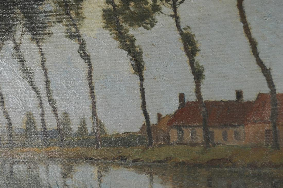 Oil on Canvas Painting by Charles Warren Eaton - 4