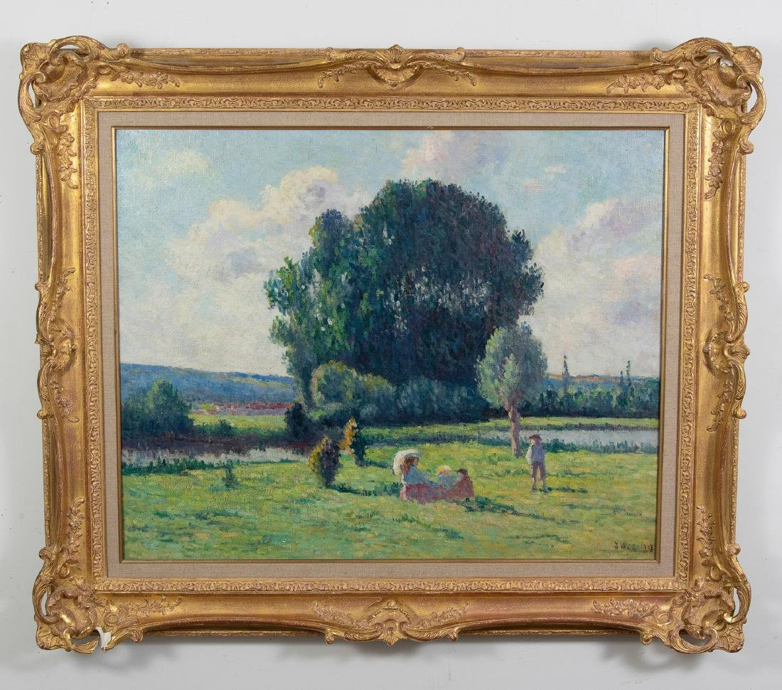 1908 Oil on Canvas by Maximilien Luce