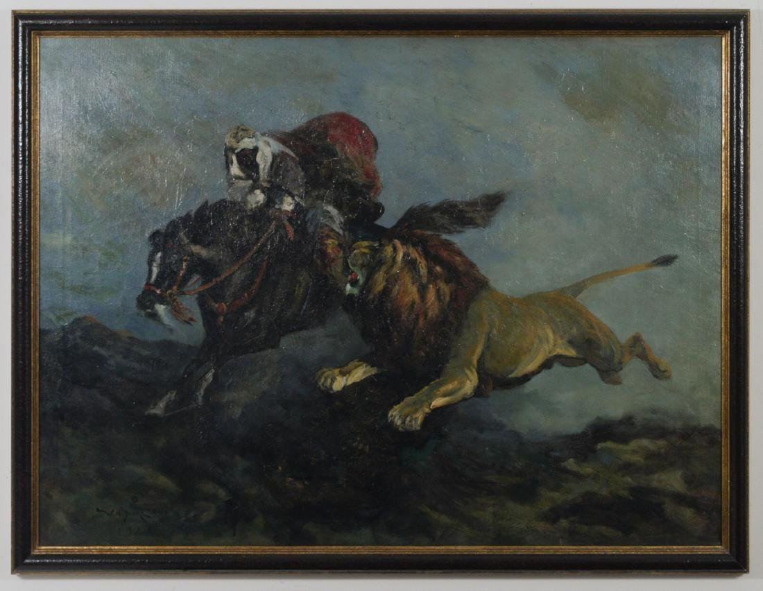 Oil on Canvas by William H. Drake