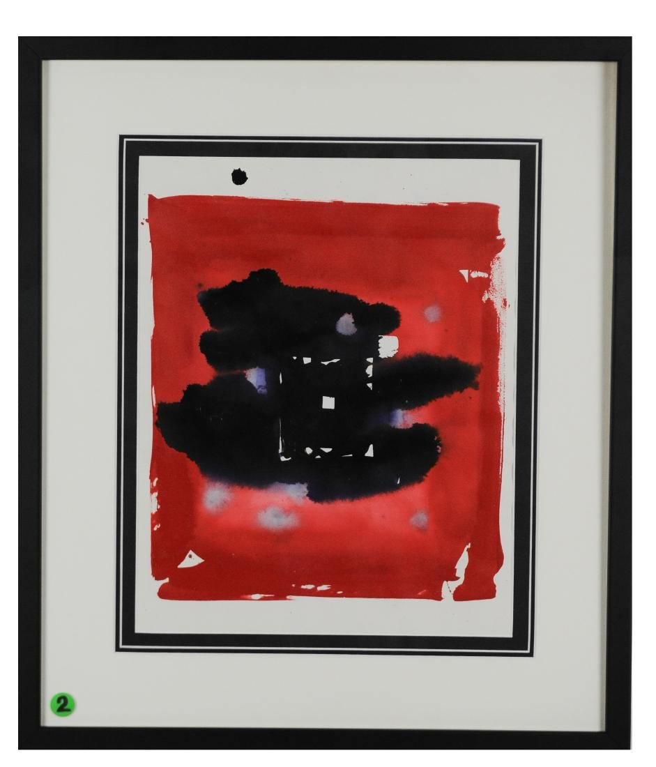 Sam Francis Untitled Abstract, Dated - 1983