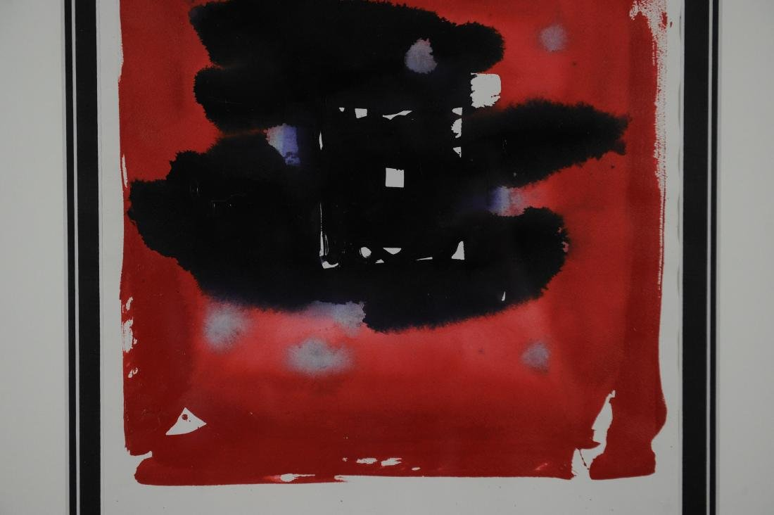 Sam Francis Untitled Abstract, Dated - 1983 - 8