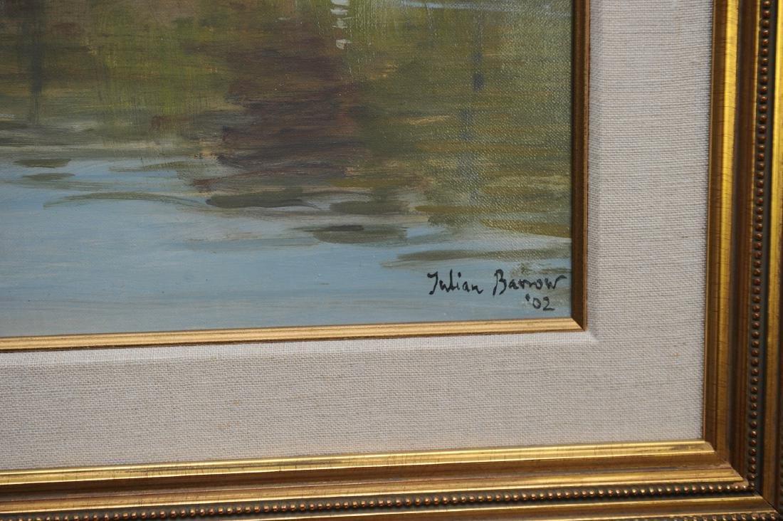 Acrylic on Canvas Buckingham Palace by Julian Barrow - 3