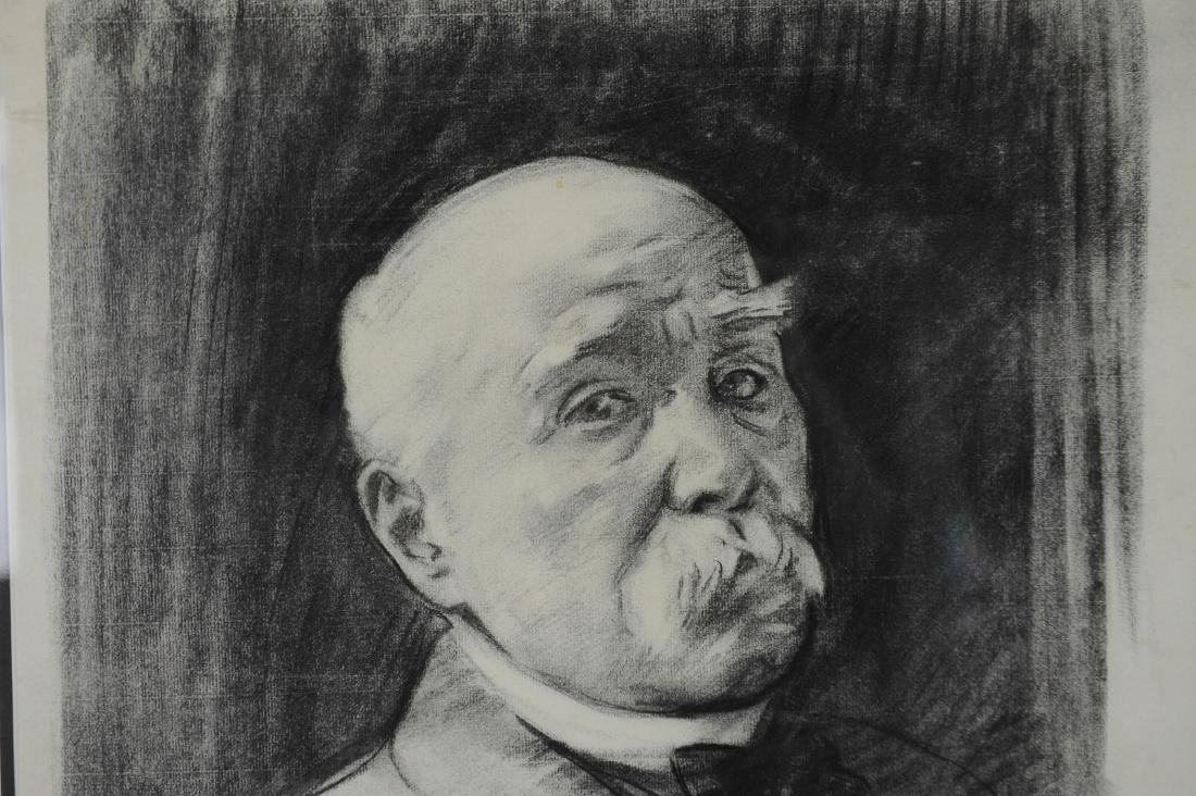 John Singer Sargent Drawing of Georges Clemenceau - 2