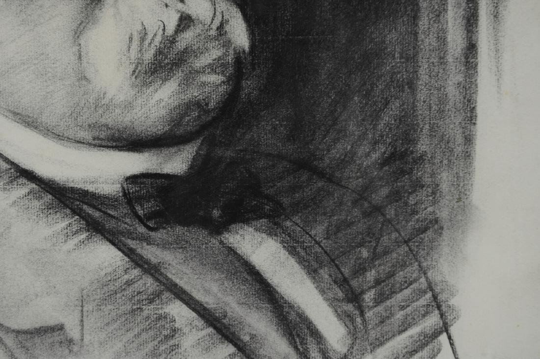 John Singer Sargent Drawing of Georges Clemenceau - 3
