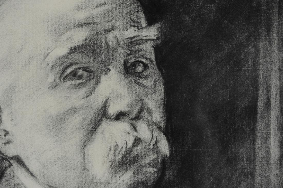 John Singer Sargent Drawing of Georges Clemenceau - 4