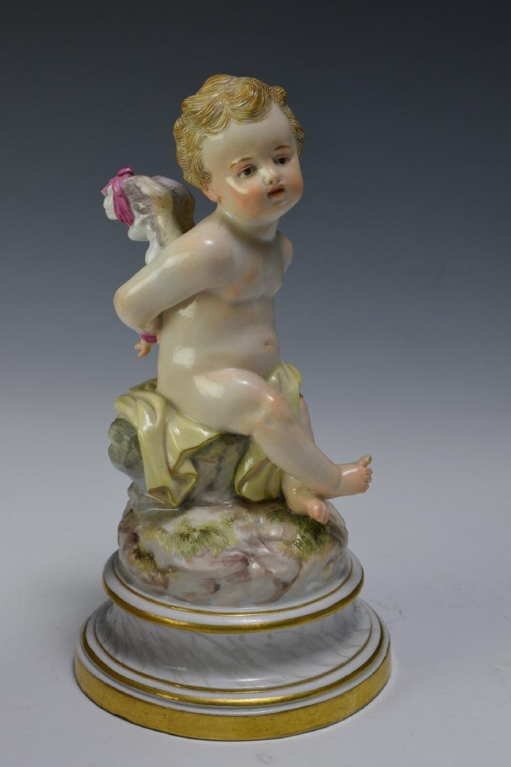 Meissen Cupid with Bound Hands - 5