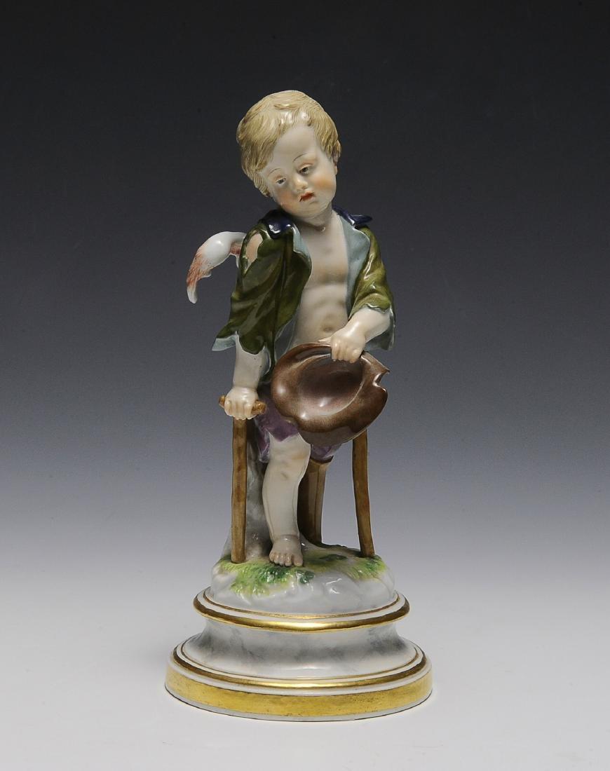 "Meissen ""Cupid as a Beggar"""