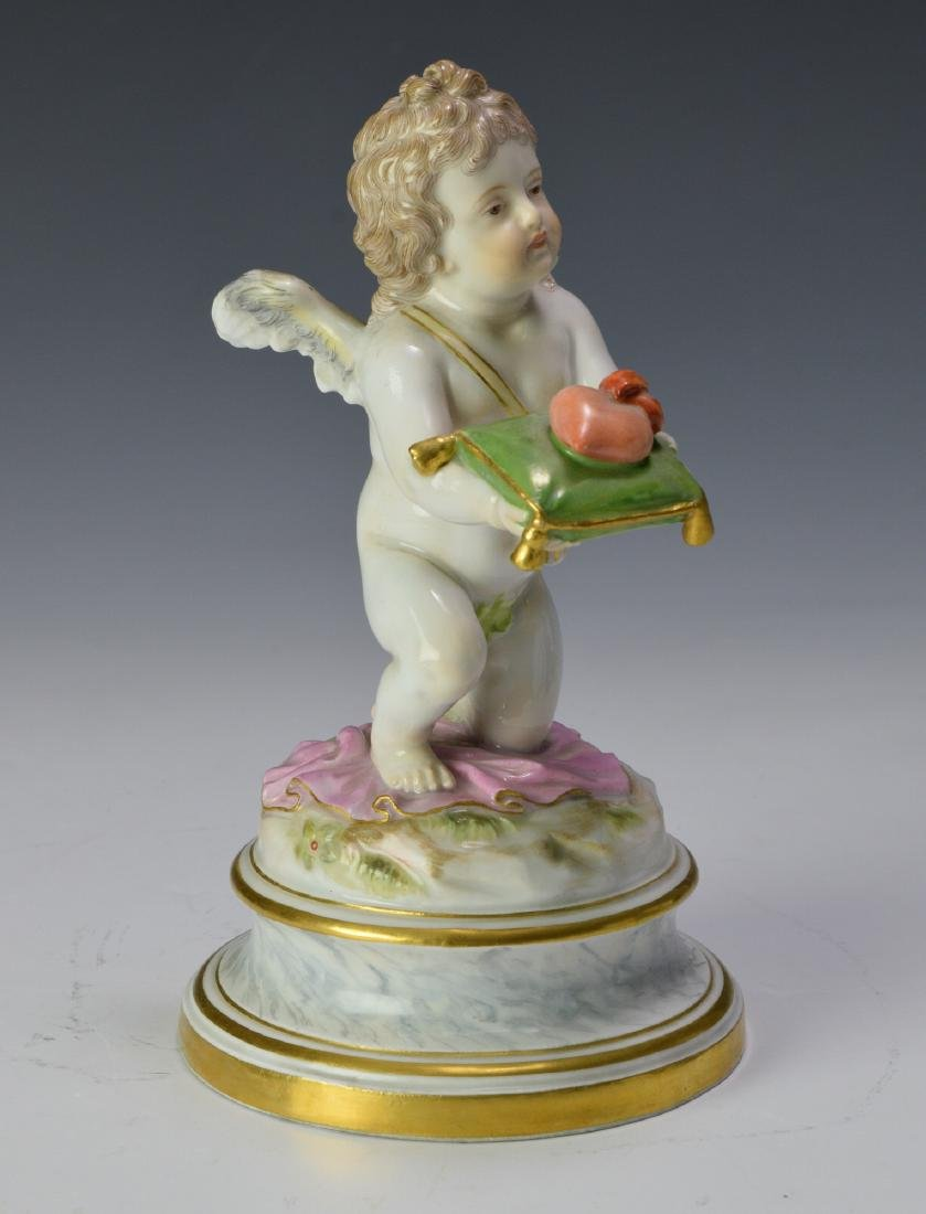 "Meissen ""Kneeling Cupid Offering a Heart"" - 2"