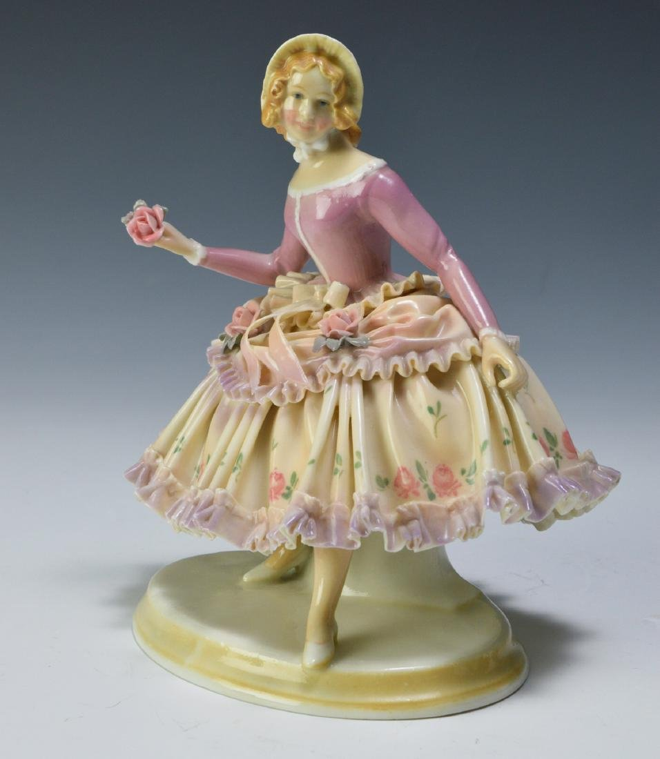 19th Century Volkstedt Porcelain Figure