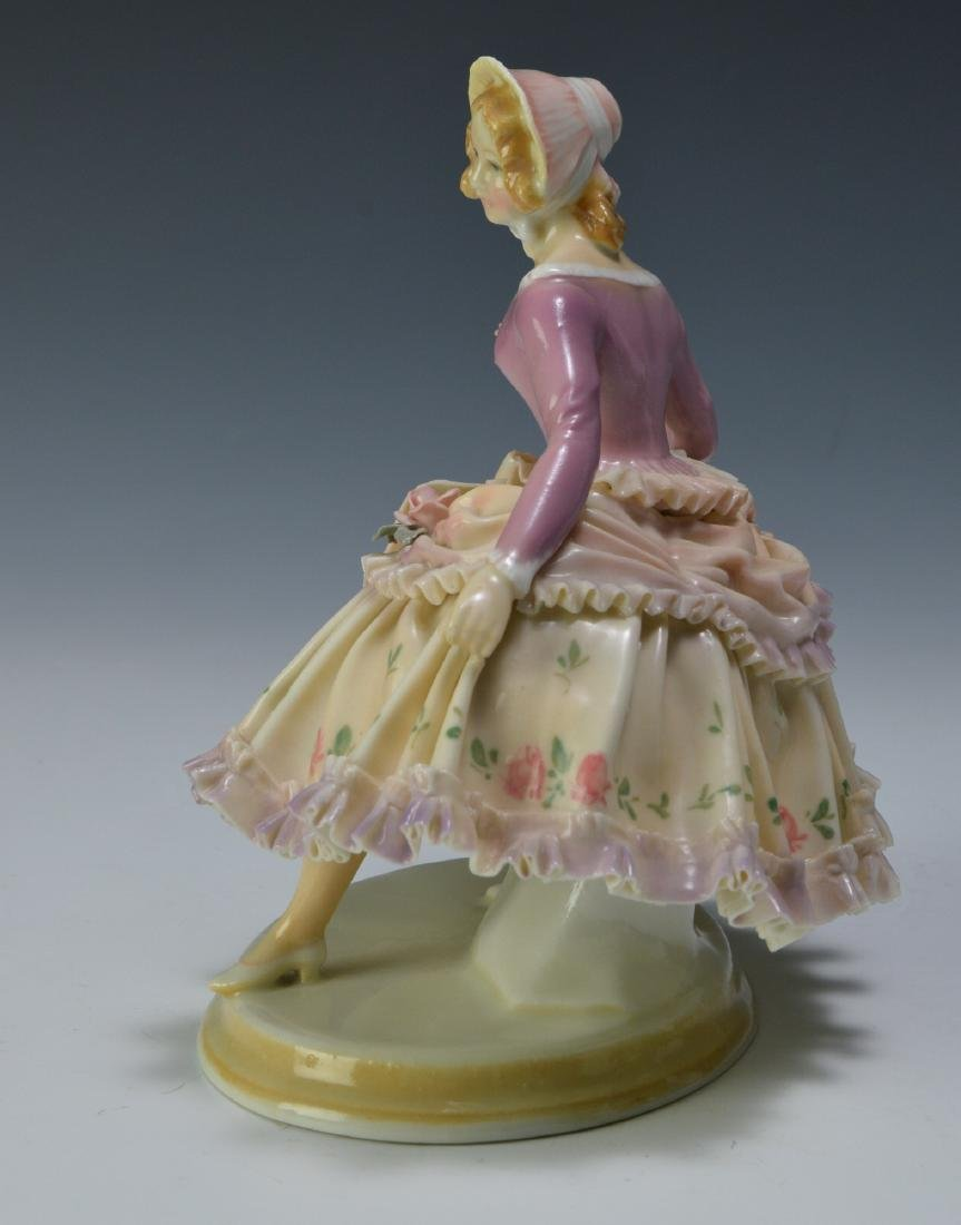 19th Century Volkstedt Porcelain Figure - 2