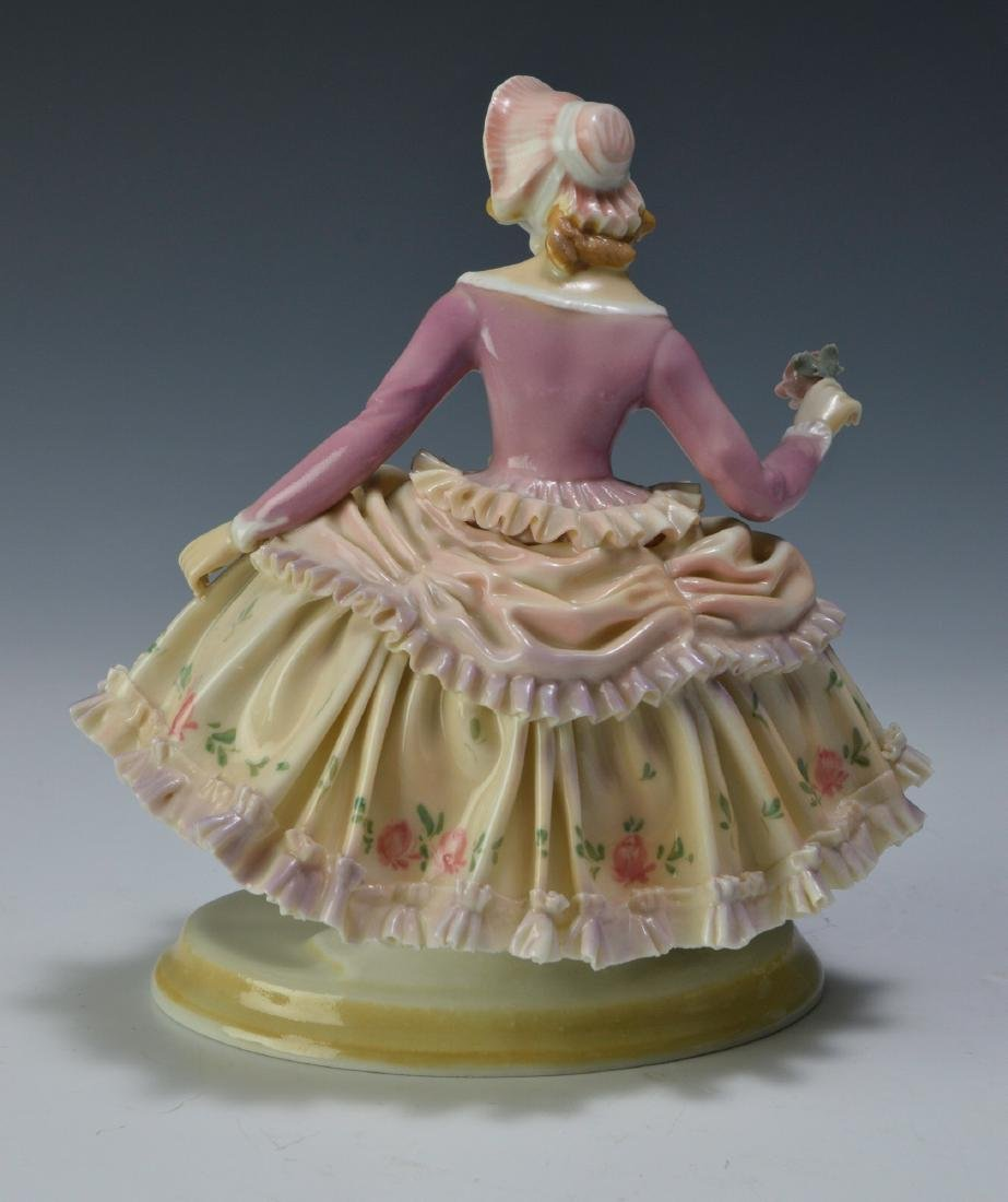 19th Century Volkstedt Porcelain Figure - 3
