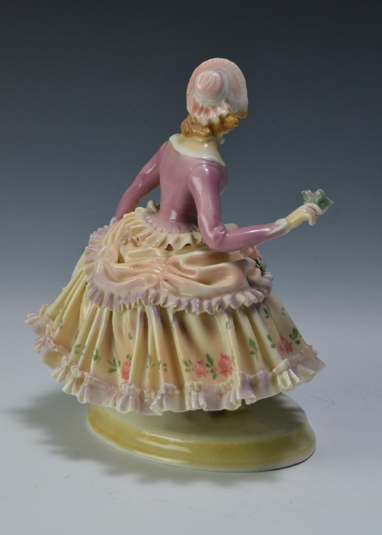 19th Century Volkstedt Porcelain Figure - 4