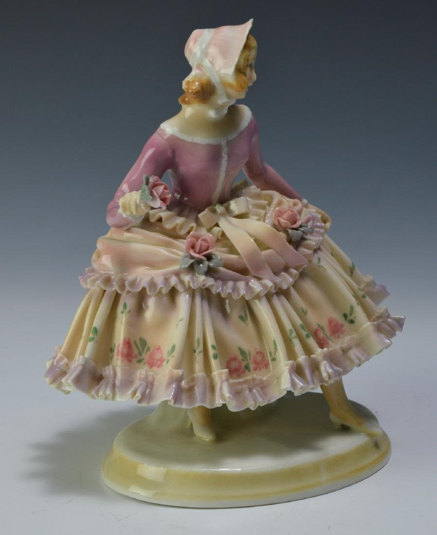 19th Century Volkstedt Porcelain Figure - 5