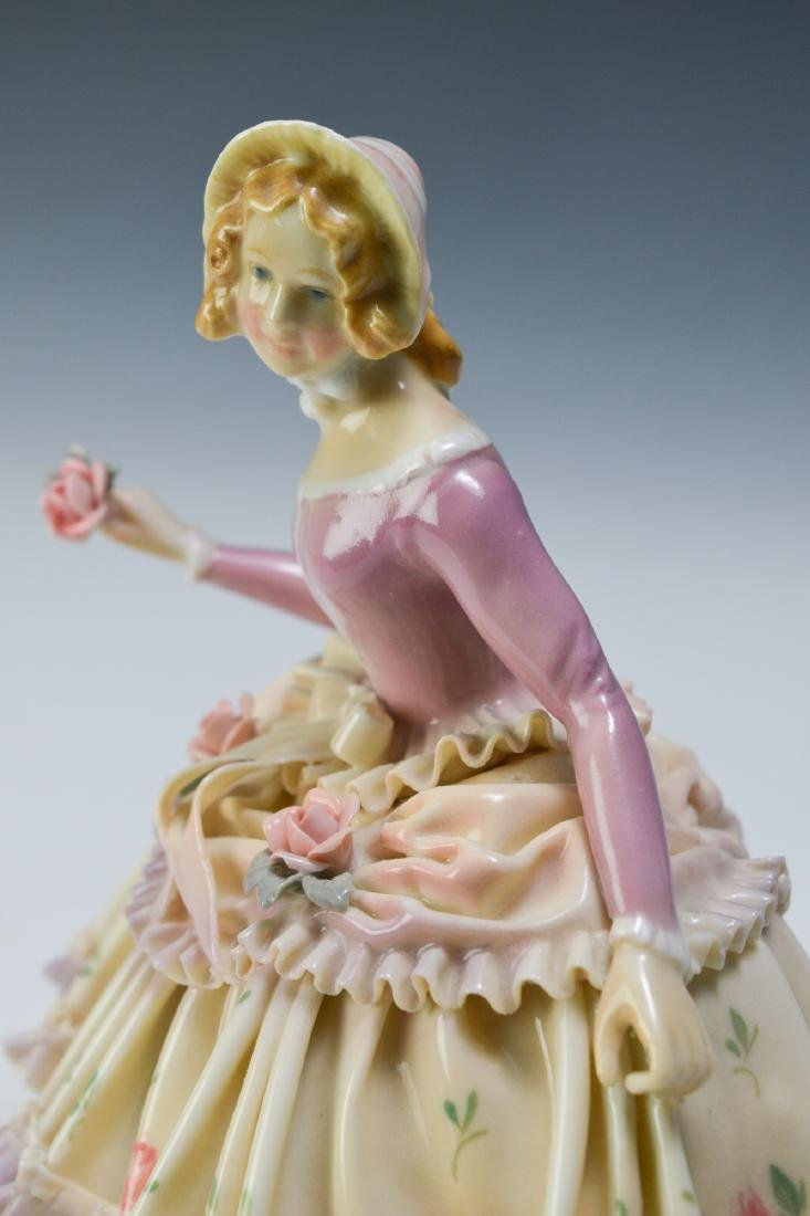 19th Century Volkstedt Porcelain Figure - 6