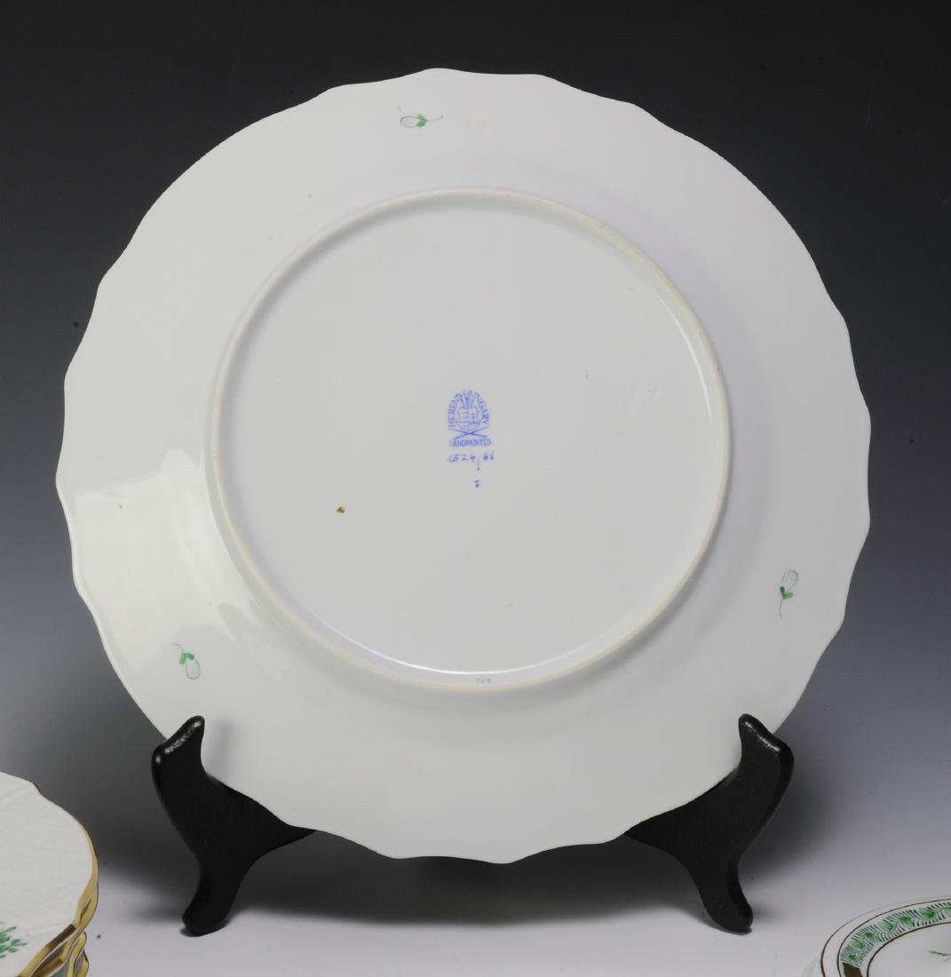 Herend Green Chinese Bouquet Pattern Porcelain - 2