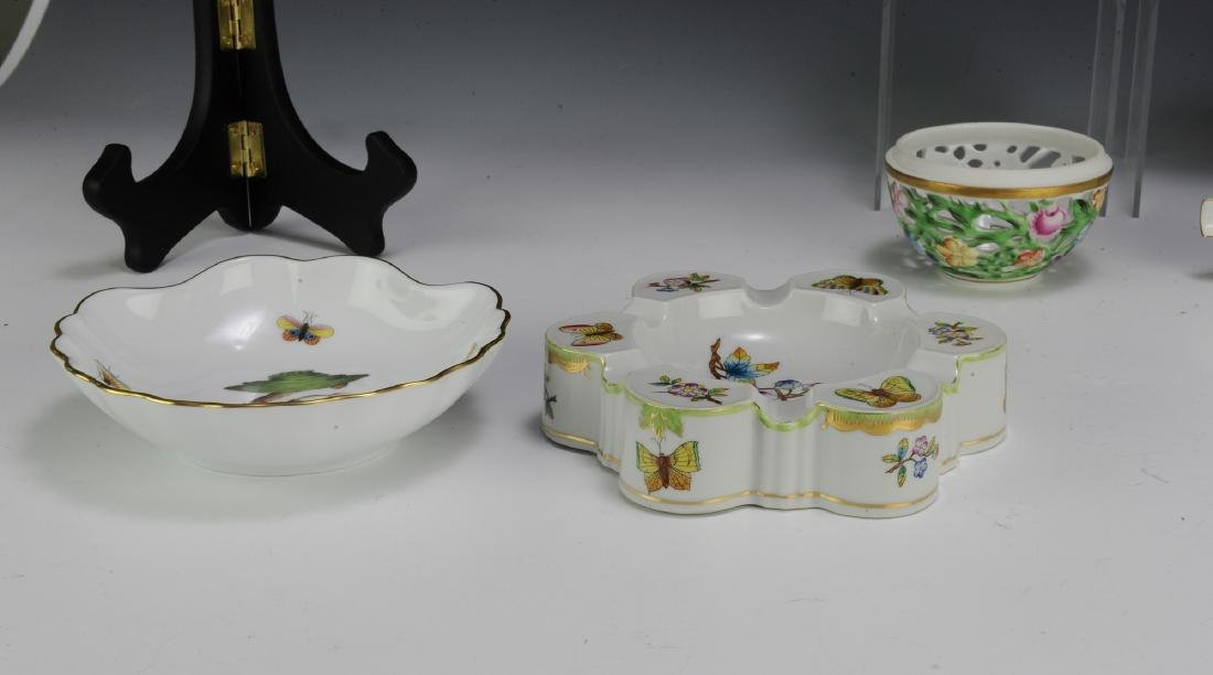 Seven Pieces of Herend Porcelain - 3