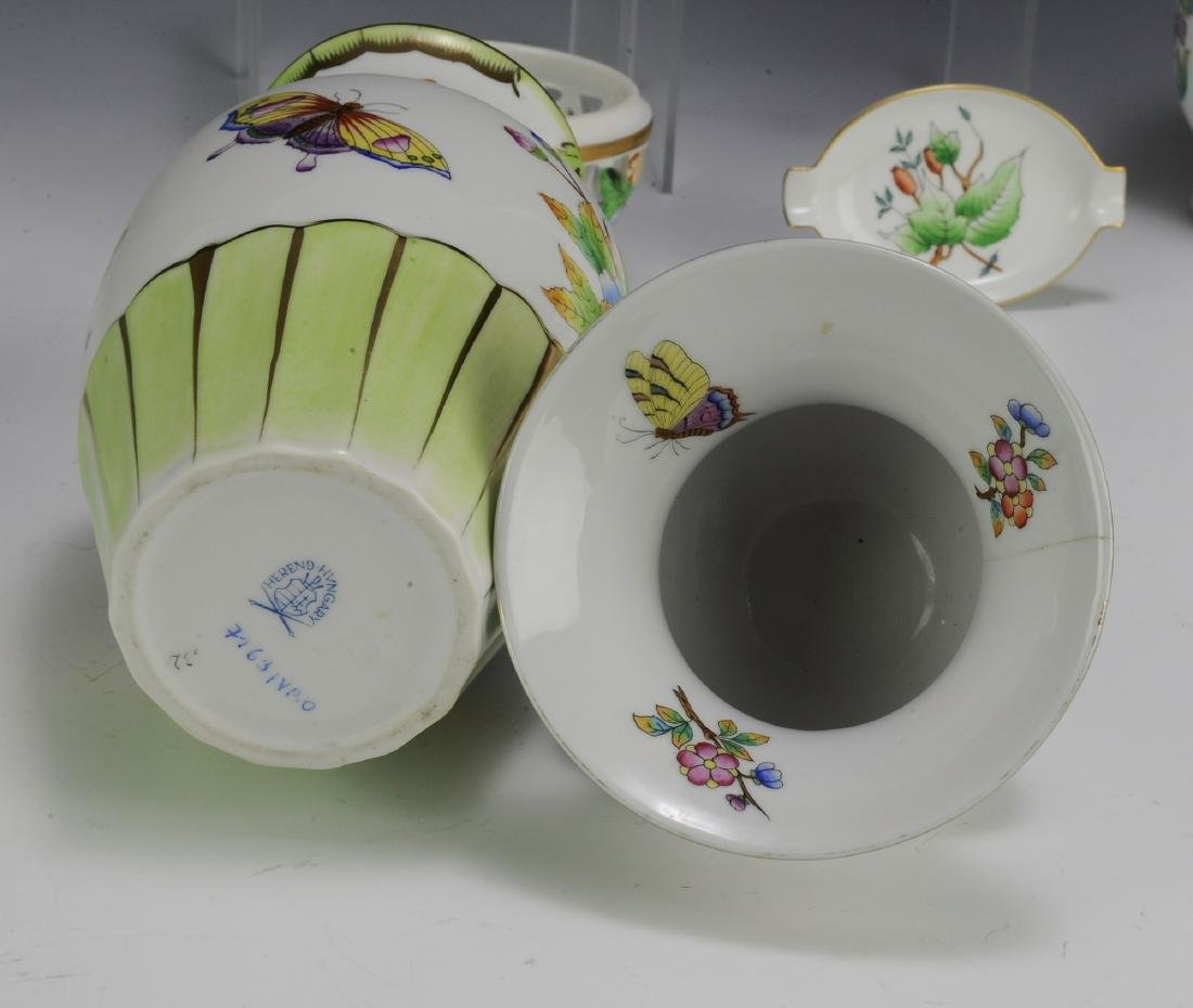 Seven Pieces of Herend Porcelain - 4