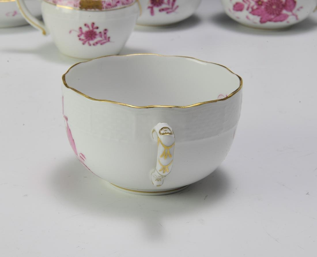 Herend Raspberry Chinese Bouquet Coffee Set (16) - 4