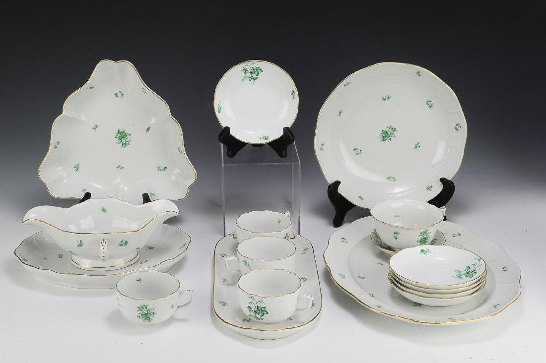 Herend Partial Dinner Set Pattern HER72 (42) - 2