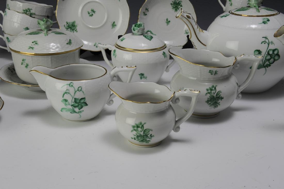 Herend Coffee and Tea Set Pattern HER72 (41) - 2