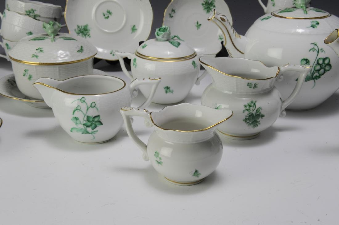 Herend Coffee and Tea Set Pattern HER72 (41) - 3