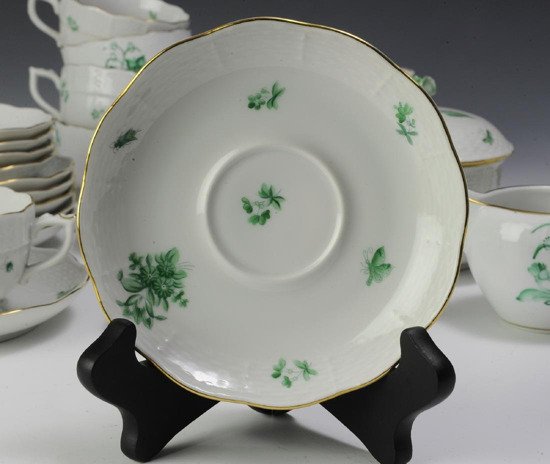 Herend Coffee and Tea Set Pattern HER72 (41) - 5
