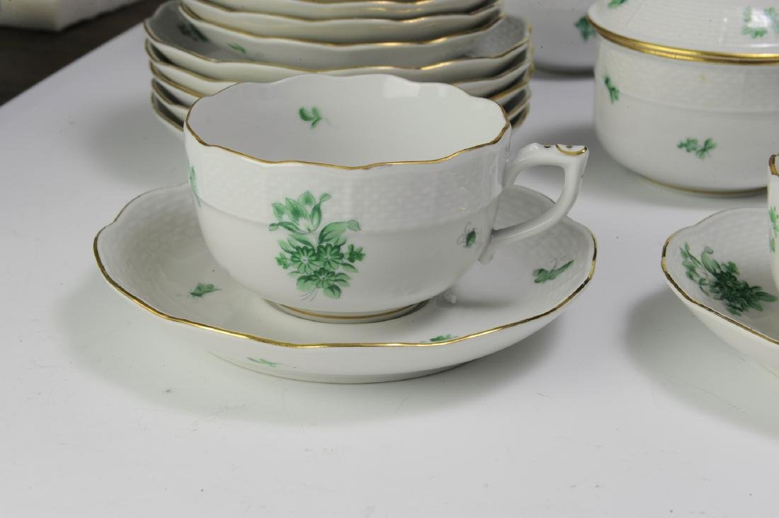 Herend Coffee and Tea Set Pattern HER72 (41) - 7