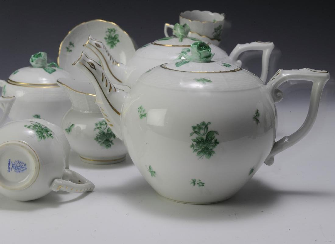 Herend Coffee and Tea Set Pattern HER72 (41) - 8