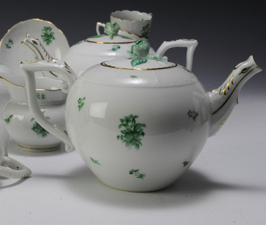 Herend Coffee and Tea Set Pattern HER72 (41) - 9