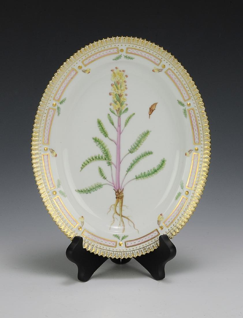 Royal Copenhagen Flora Danica Small Oval Platter