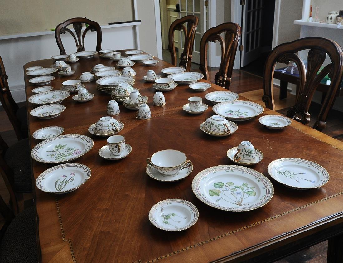 Royal Copenhagen Flora Danica Dinner Set 84 Pieces