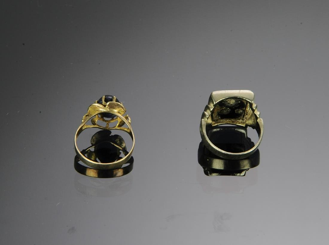 Two 14K Gold Rings - 2