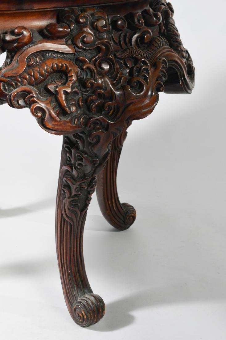 Japanese Carved Table - 10