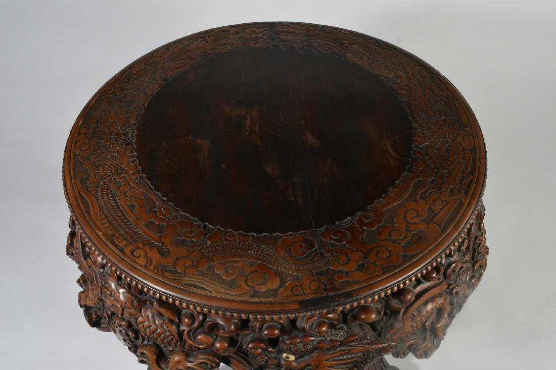 Japanese Carved Table - 4