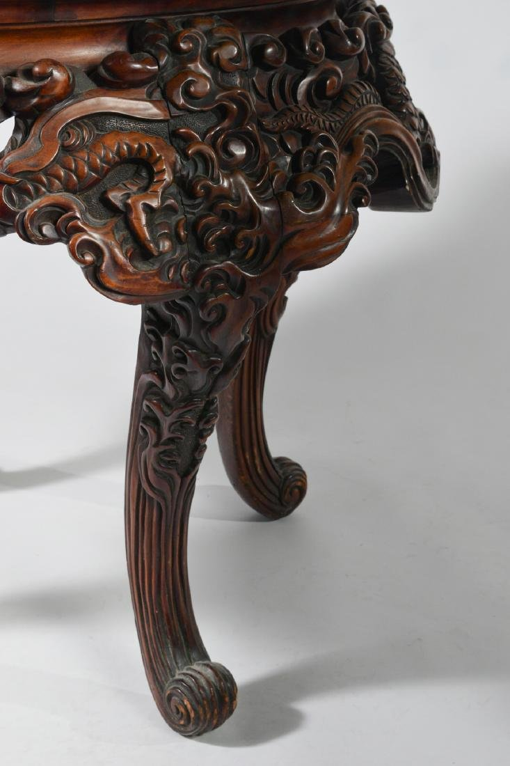 Japanese Carved Table - 5