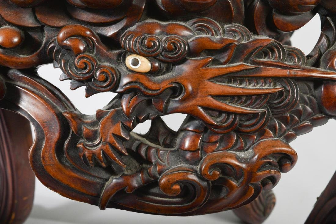 Japanese Carved Table - 8