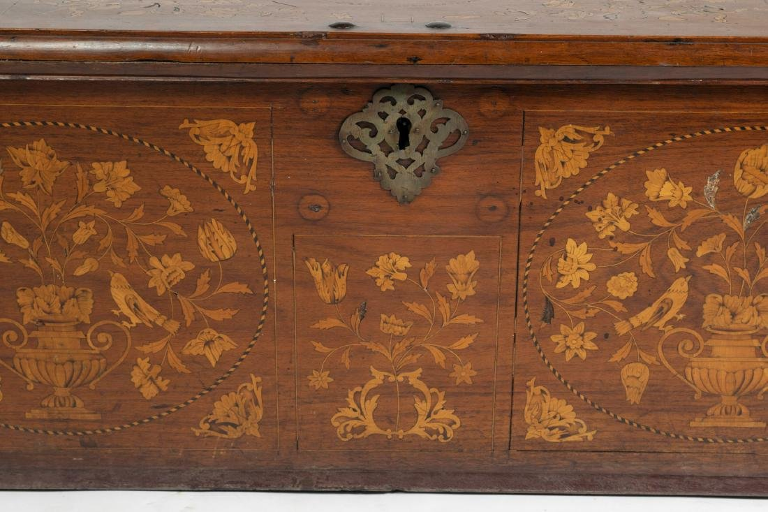 Early 19th Century Belgian Dower Chest - 2