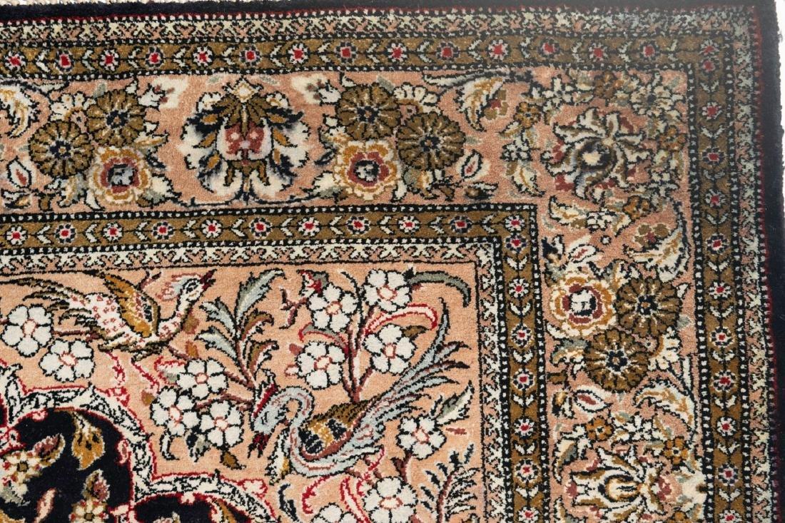 Persian All Silk Rug - 4