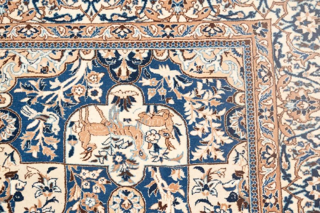 Persian Rug Wool/Silk - 3